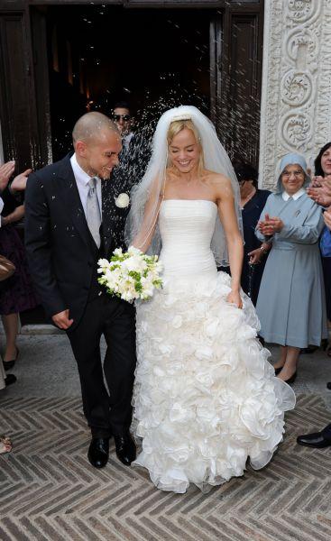 Свадебные фото Мины Сувари