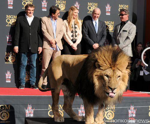 Сильвестр Сталлоне на юбилее компании MGM