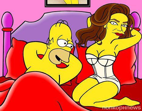 Кейтлин Дженнер превратилась в персонажа мультсериала  «Симпсоны»