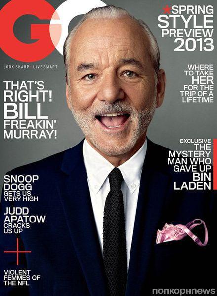 Билл Мюррей в журнале GQ. Январь 2013