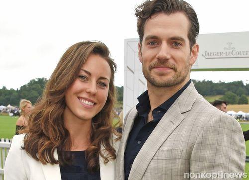 Генри Кавилл с новой девушкой побывал на турнире по поло