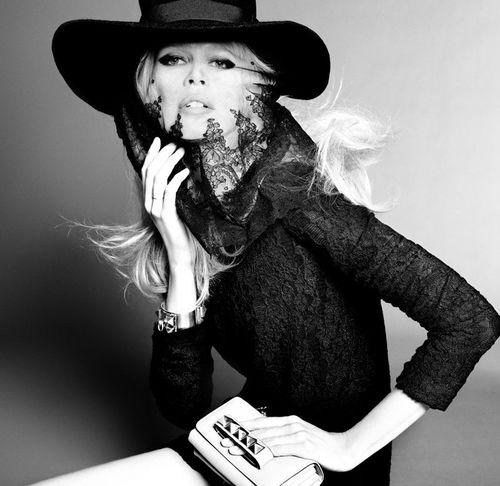 Клаудиа Шиффер в журнале Vogue Испания. Сентябрь 2011