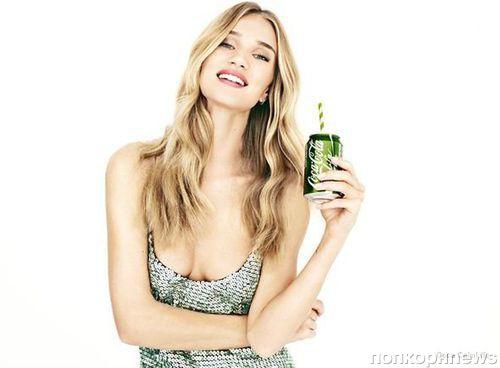 Роузи Хантингтон-Уайтли в рекламе нового напитка Coca-Cola Life