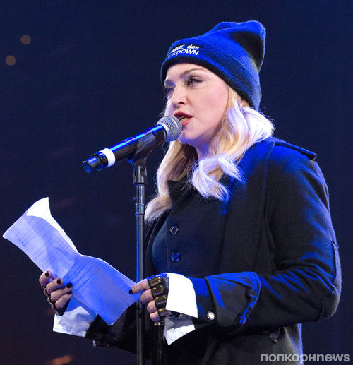 Мадонна представила на сцене Pussy Riot