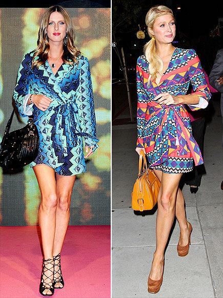 Fashion Battle: Ники и Пэрис Хилтон