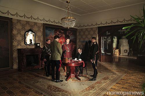 Эксклюзивные фото со съемок фильма «Контрибуция»