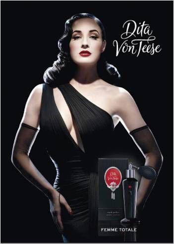 Новый аромат от Диты фон Тиз «Dita Von Teese»
