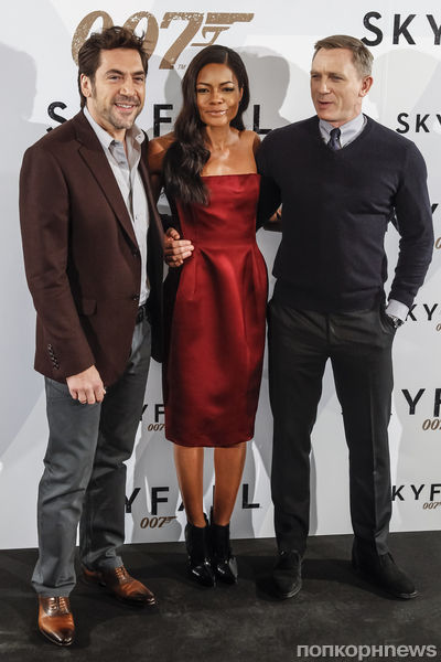 """Фотоколл фильма """"007: Координаты «Скайфолл»"""" в Мадриде"""