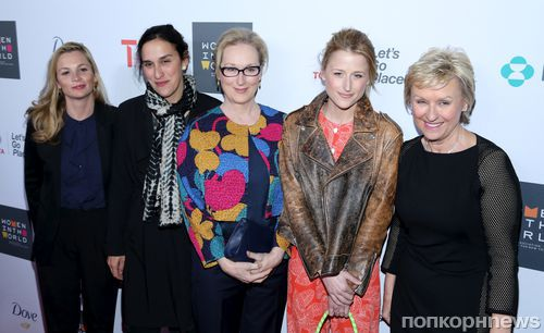 Звезды на саммите Women In World в Нью-Йорке