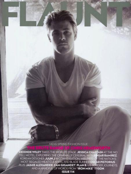 Крис Хемсворт в журнале Flaunt и GQ Австралия. Май 2011