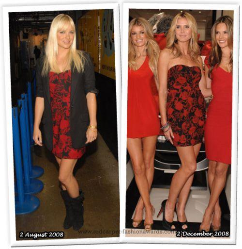 Fashion battle: Анна Фэрис и Хайди Клум