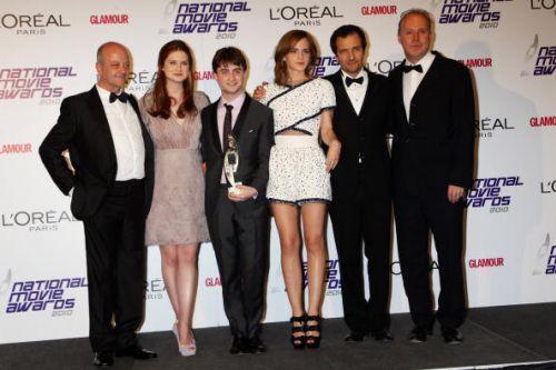 Актеры Гарри Поттера на премии National Movie Awards