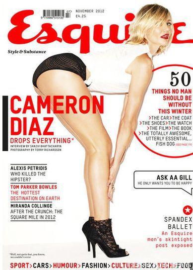 Кэмерон Диаз в журнале Esquire Великобритания. Ноябрь 2012