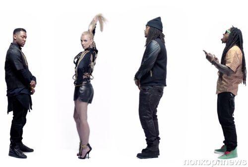 Бритни Спирс и Will.I.Am в клипе на ремикс композиции Scream & Shout