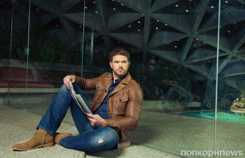 Звезда «Сумерек» Келлан Латс в фотосессии для Esquire
