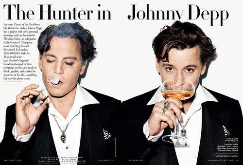 Джонни Депп извинился за свой комментарий по поводу фотосессий