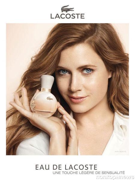 Эми Адамс в рекламной кампании аромата Lacoste