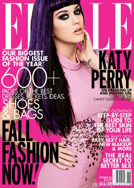 Кэти Перри в журнале Elle. Сентябрь 2012