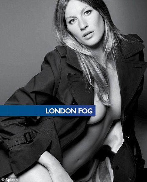 Беременная Жизель Бундхен для London Fog