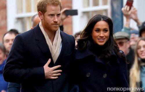 Британская казна получит около 600 млн долларов от свадьбы принца Гарри и Меган Маркл