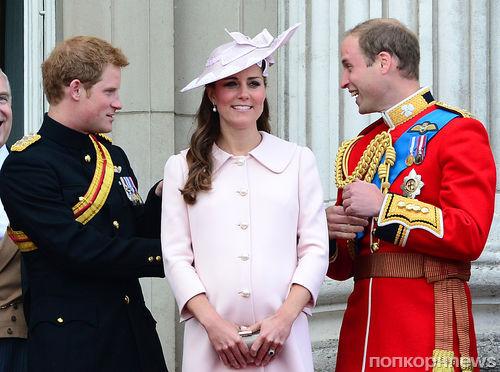 Принц Гарри не будет крестным племянника