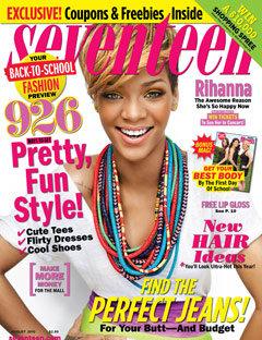 Рианна в журнале Seventeen. Август  2010