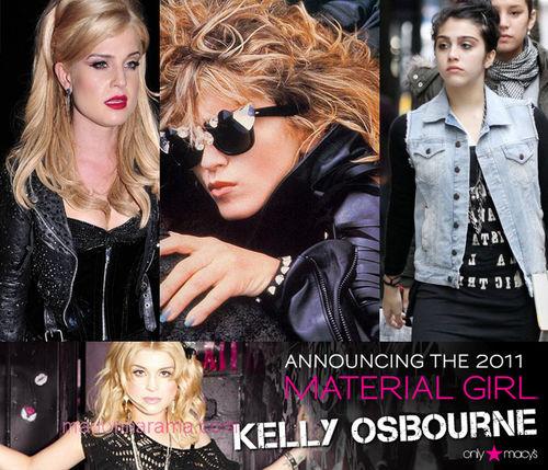"""Келли Осборн станет лицом коллекции одежды """"Material Girl"""""""