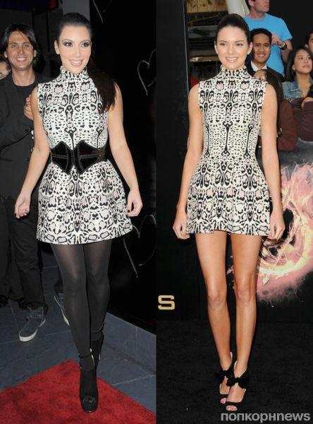 Fashion battle: Ким Кардашиан и Кендалл Дженнер