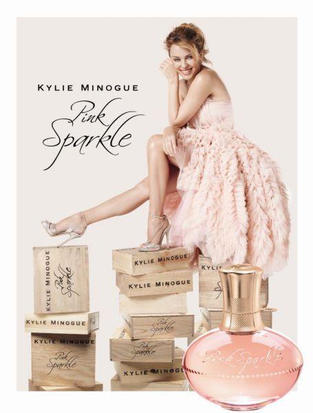 Новый парфюм от Кайли Миноуг -  Pink Sparkle