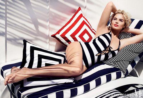 Марго Робби в журнале Vanity Fair. Август 2014