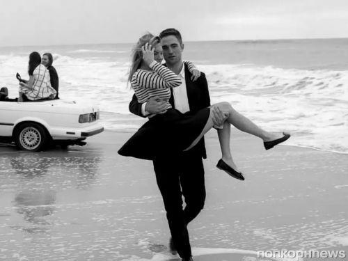 Видео: Роберт Паттинсон на съемках рекламной кампании Dior Homme