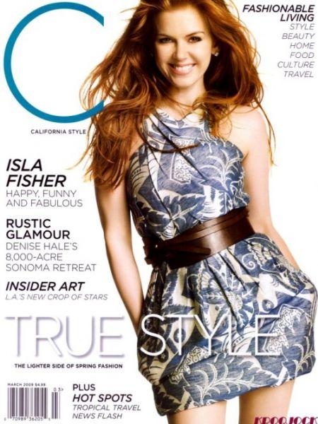 Айла Фишер в журнале California Stylе. Март 2009