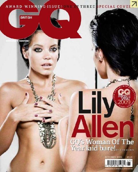 Лили Аллен, Микки Рурк и Take That в журнале GQ