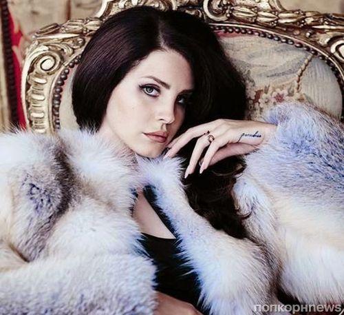 Лана Дель Рей в журнале Fashion. Сентябрь 2014