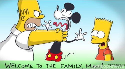 «Симпсоны» предсказали покупку 20th Century Fox компанией Disney