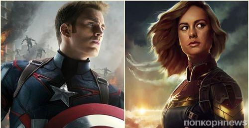 Бри Ларсон и Крис Эванс присоединились к съемкам «Мстителей 4»