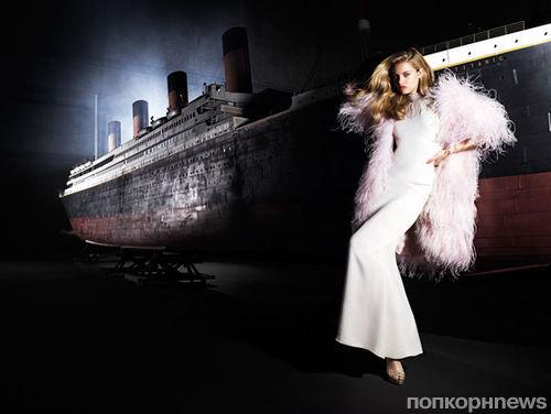 Модная фотосессия Harper's Bazaar по мотивам фильмов Джеймса Кэмерона. Май 2012
