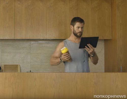 Крис Хемсворт снялся в рекламном ролике телекомпании Foxtel