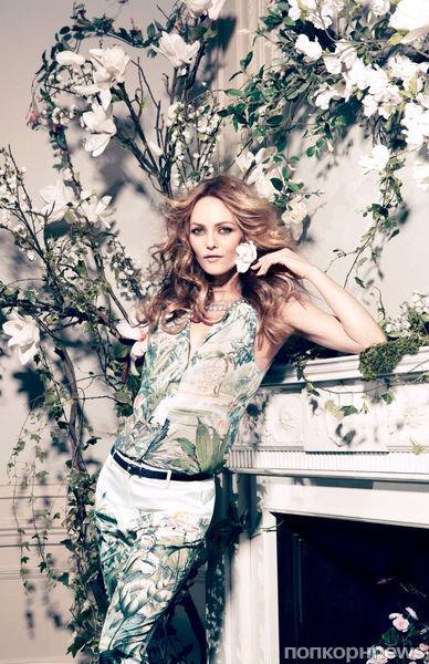 Ванесса Паради в рекламной кампании  H&M Conscious. 2013