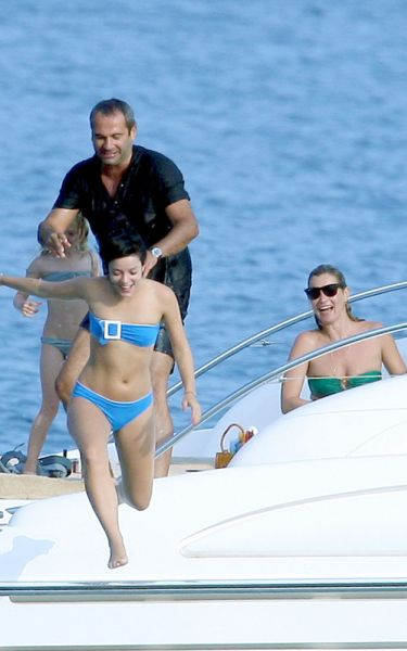 Кейт Мосс отдыхает с Лили Аллен