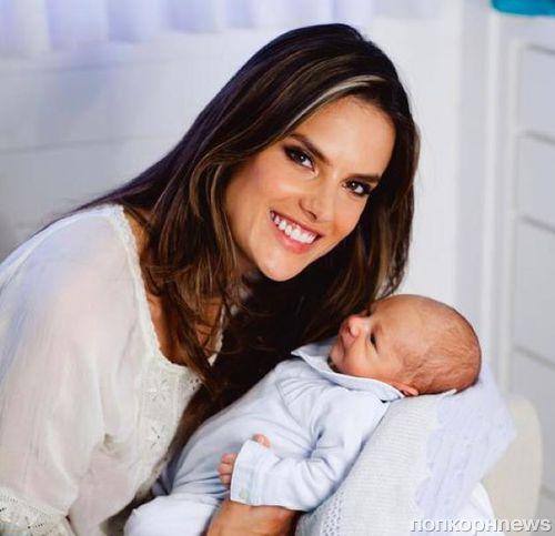 Алессандра Амбросио впервые показала своего сына