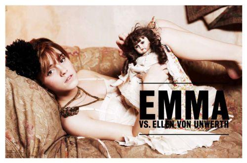 Эмма Уотсон в журнале Vs 2009