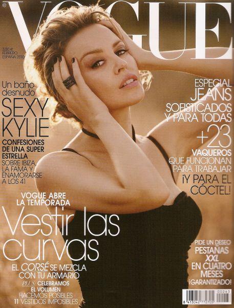 Кайли Миноуг в журнале Vogue. Испания. Февраль 2010