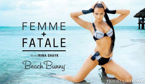 Ирина Шейк в рекламной кампании купальников Beach Bunny