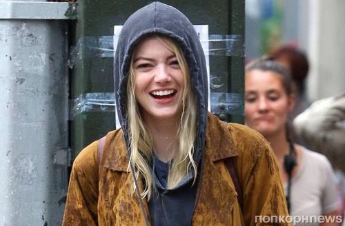 Фото: Эмма Стоун приступила к съемкам в новом сериале «Маньяк»