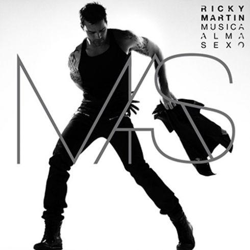 Обложка нового альбома Рики Мартина «Music + Soul + Sex»