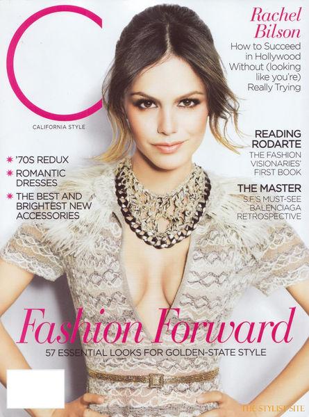 Рэйчел Билсон для журнала California Style