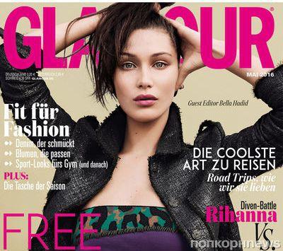 Белла Хадид в журнале Glamour Германия. Май 2016