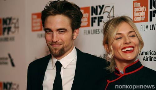 Роберт Паттинсон и Сиенна Миллер на премьере «Затерянный город Z» в Нью-Йорке