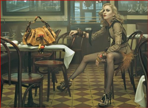 Мадонна рекламирует Louis Vuitton